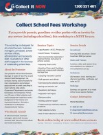 Collect School Fees Workshop